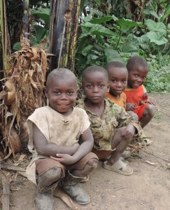 Kilambo kids who waited with us 2 jpg