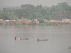 river view in Mbandaka