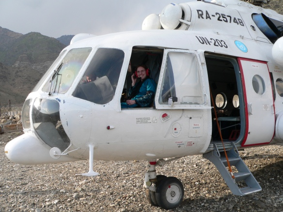 Nuristan helicopter