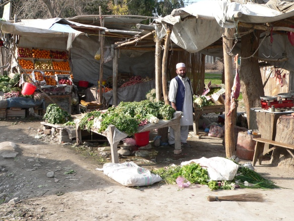 fruit and meat market Jalalabad
